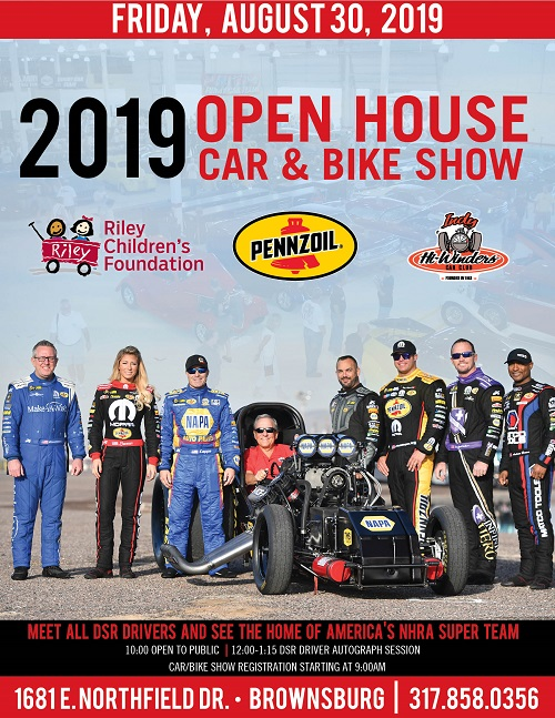 Meet all DSR drivers and see the home of America's NHRA super team!