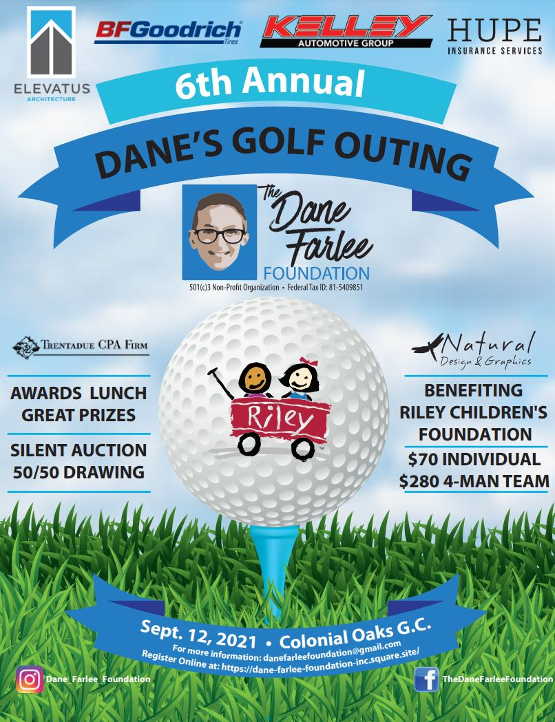 Danes 6th Golf Outing Flyer