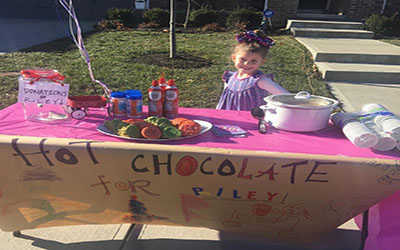 Lucy Hot Chocolate Stand