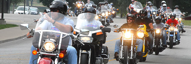 2014 Miracle Ride benefiting Riley Hospital for Children