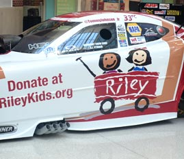 Don Schumacher Racing's Riley Red Wagon Funny Car