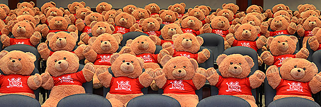 Speedway funds the Bear in the Chair program at Riley Hospital