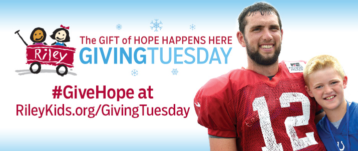 andrew luck giving tuesday