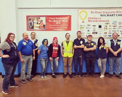 Walmart and Sam's Club support Riley Kids