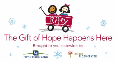 The Gift of Hope Happens here campaign is raising funds to support Riley Hospital for Children