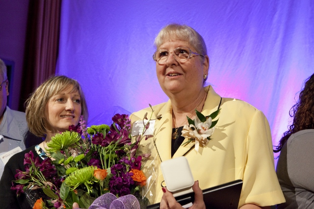 Sue Stone, RN, is named Nurse of the Year