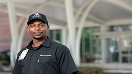 Desmond Turner, Riley Hospital for Children Employee